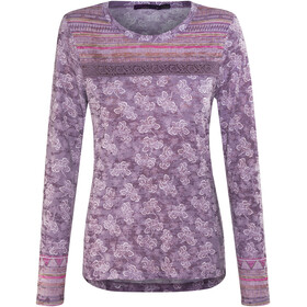 Prana Tilly LS Top Women Dark Plum Willow